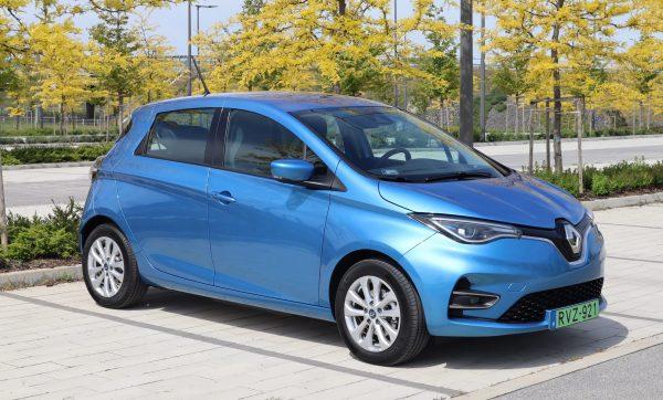 Nagy töltési teszt – új 52 kWh Renault Zoe